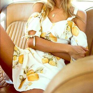 For Love and Lemons Limonada Dress XS